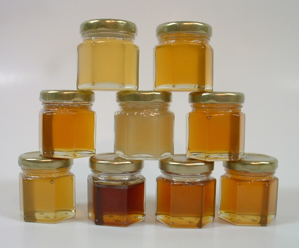 Sampler Jars - Click here to view honey types